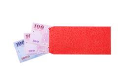 китайский красный цвет габарита Стоковое Фото