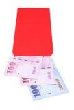 китайский красный цвет габарита Стоковые Изображения RF