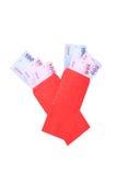 китайский красный цвет габарита Стоковая Фотография