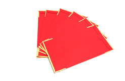 китайский красный цвет габарита Стоковое Изображение
