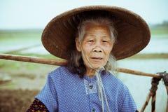 Китайский крестьянин Стоковое Изображение