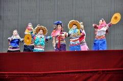 Китайский кукольный театр стоковые изображения rf