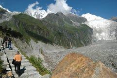 китайский ледник sichuan Стоковые Фото