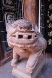 Китайский львев радетеля стоковое изображение rf