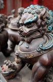 китайский львев Стоковые Изображения RF