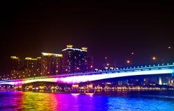 Китайский мост Стоковое Изображение