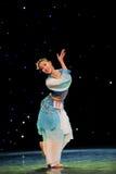 Китайский народный танец Стоковая Фотография RF