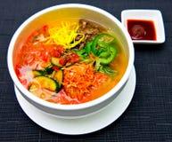 китайский национальный суп Стоковые Фотографии RF