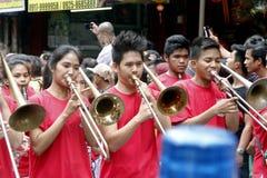 Китайский Новый Год в Маниле Чайна-тауне стоковые фотографии rf