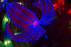 Китайский Новый Год Нового Года фестиваля фонарика китайский Стоковое Изображение RF