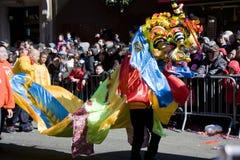 китайский новый год парада Стоковая Фотография