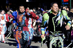 китайский новый год парада Стоковые Фото