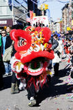 китайский новый год парада Стоковое фото RF
