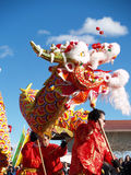 китайский новый год performace Стоковое Изображение RF