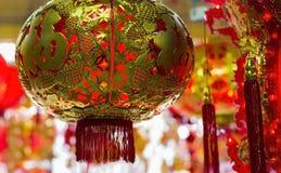 китайский новый год орнаментов Стоковая Фотография