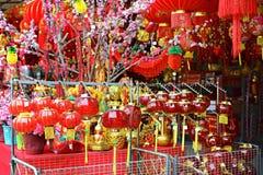 китайский новый год орнаментов Стоковое Фото