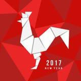 Китайский Новый Год петуха 2017 Стоковая Фотография