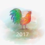 Китайский Новый Год петуха Стоковые Изображения RF
