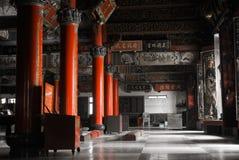 китайский нутряной висок Стоковое Фото