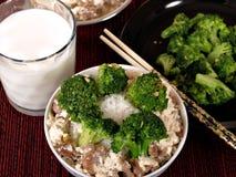 китайский обед стоковое изображение
