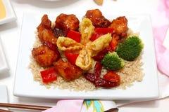 китайский обед стоковая фотография rf