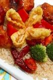 китайский обед стоковые фото