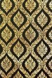 китайский орнамент крася тайское традиционное Стоковые Изображения RF