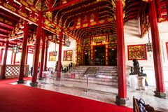 Китайский особняк на Челк-PA-в летнем дворце Стоковая Фотография
