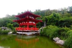 китайский павильон Стоковое фото RF