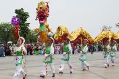 китайский парад дракона Стоковое Изображение RF