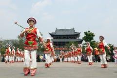 китайский парад строба дракона Стоковые Фото
