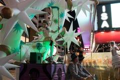 Китайский парад ночи Нового Года Стоковые Фотографии RF
