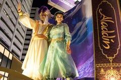 Китайский парад ночи Нового Года Стоковая Фотография