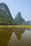Китайский пастырский пейзаж Стоковая Фотография