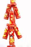 китайский пожар шутих стоковые фотографии rf