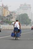 китайский пожилой человек Стоковая Фотография