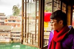 китайский портрет Стоковая Фотография