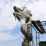 Китайский дракон в святыне Стоковое фото RF