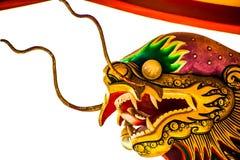 Китайский дракон, Таиланд Стоковые Фотографии RF