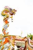 Китайский дракон. Стоковое Изображение RF