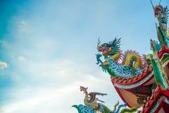 китайский дракон стоковые фотографии rf