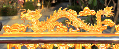 китайский дракон Стоковая Фотография