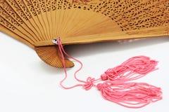 китайский раскрынный вентилятор стоковая фотография rf