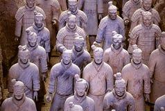 китайский ратник terra cotta Стоковое Фото