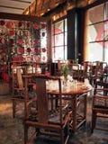 китайский ресторан кухни стоковые фотографии rf