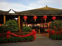 китайский ресторан традиционный стоковое фото