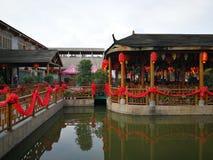 китайский ресторан традиционный стоковая фотография