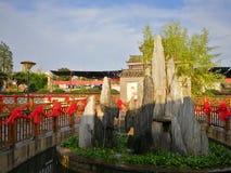 китайский ресторан традиционный стоковое фото rf
