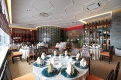 китайский ресторан стоковое изображение rf