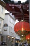 китайский ресторан Стоковое Изображение